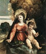 Dosso Dossi Madonna and Child oil painting picture wholesale